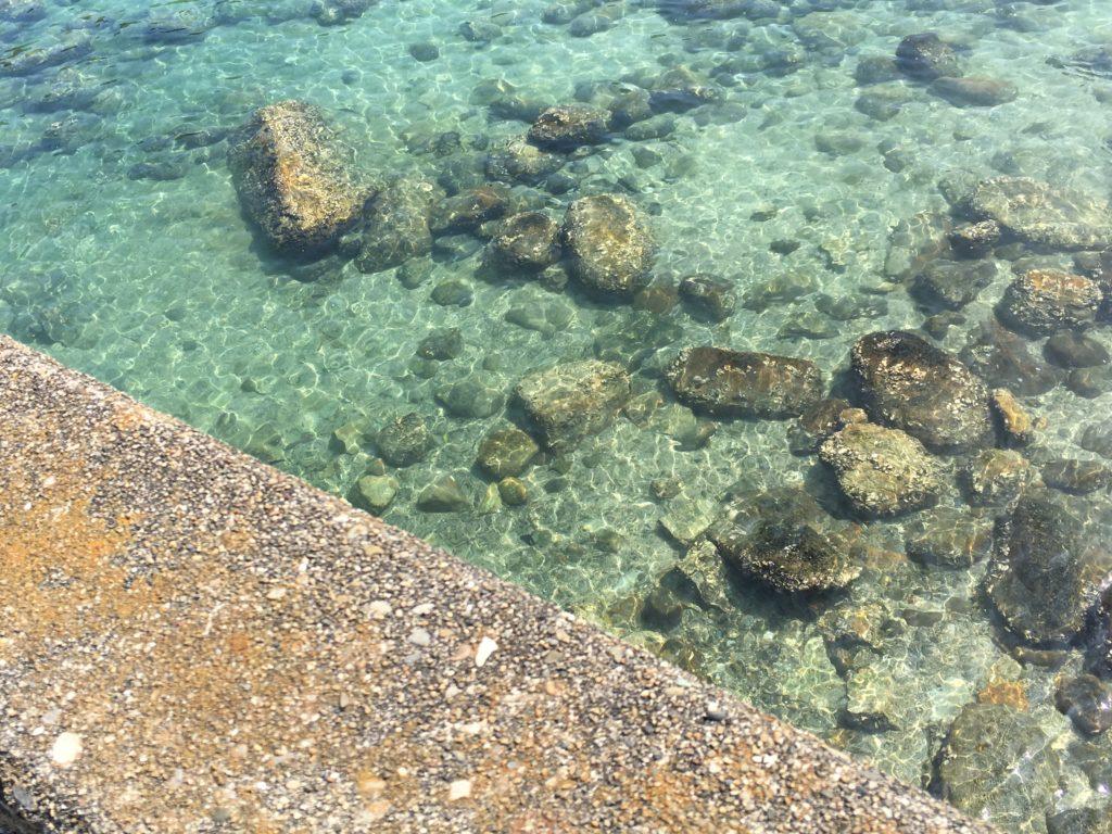 柏島の海の透明度