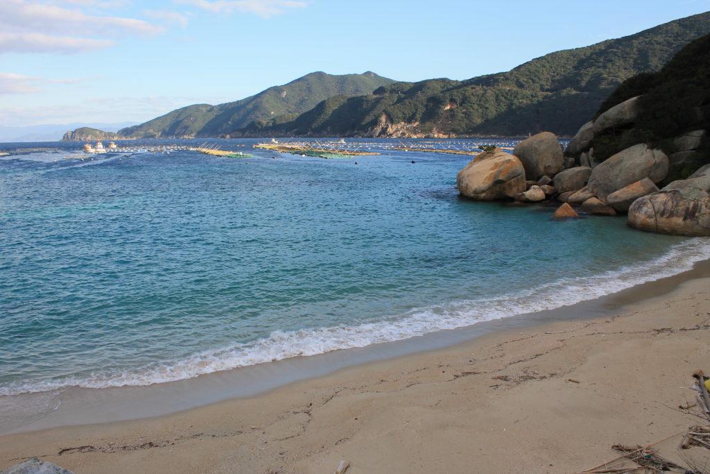 柏島の白浜ビーチ