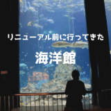 リニューアル前の足摺海洋館に行ってきたよ