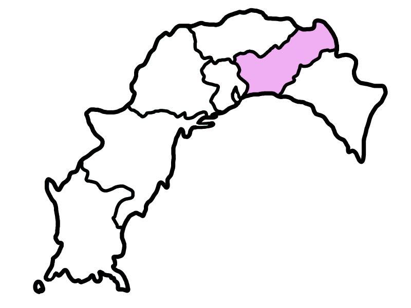香美市・香南の地図