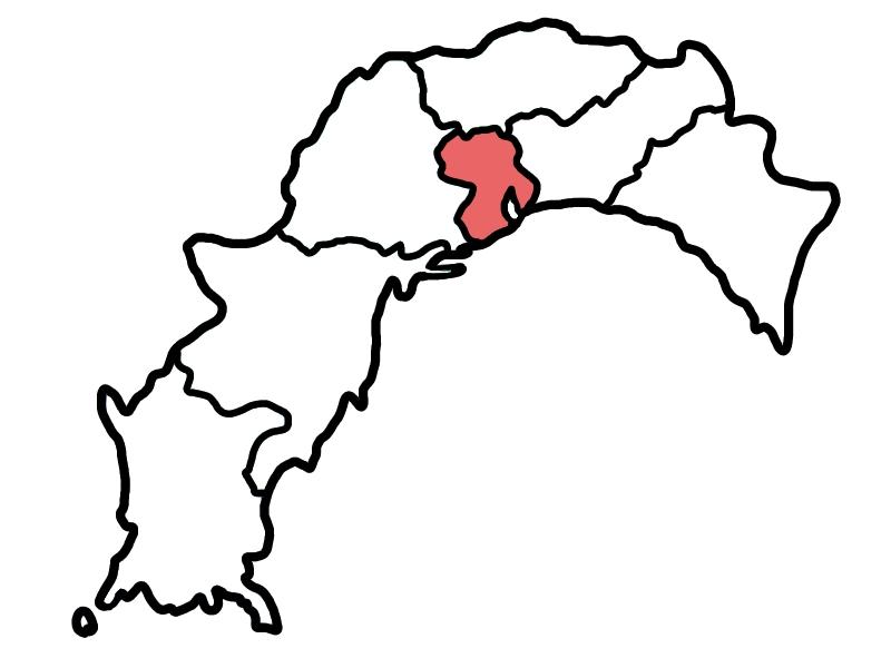 高知市エリア地図