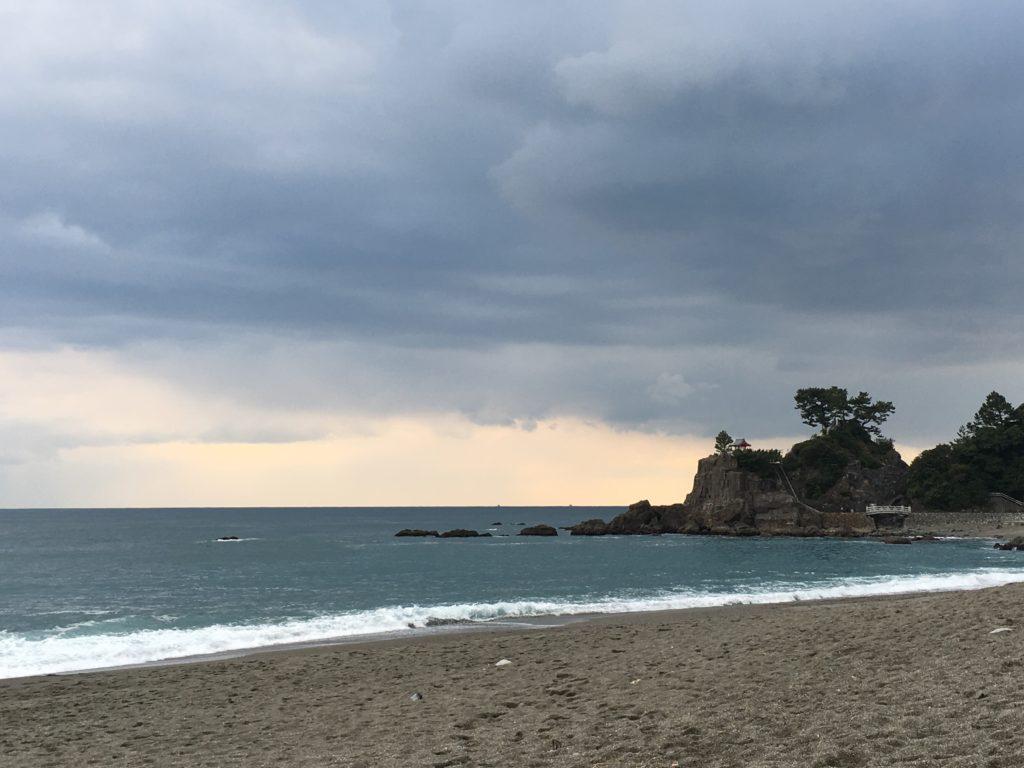 夕方の桂浜