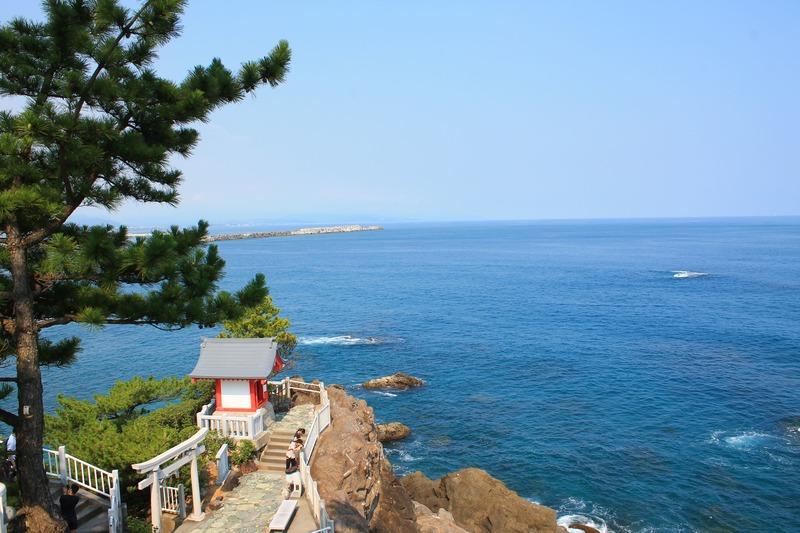 桂浜:早高神社からの風景