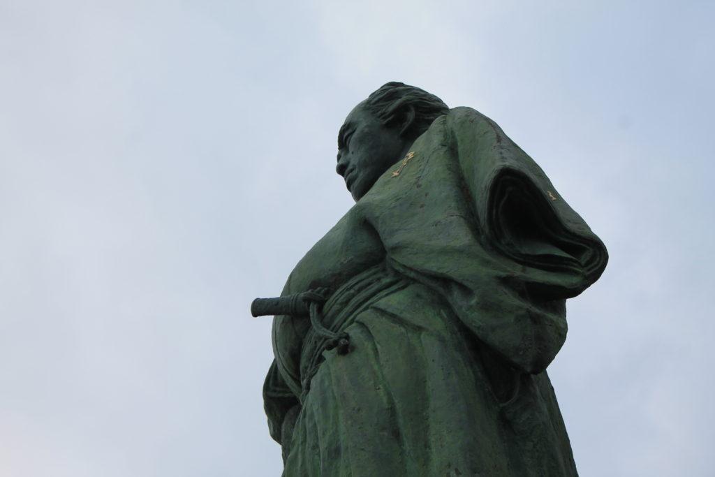 桂浜にある坂本龍馬像