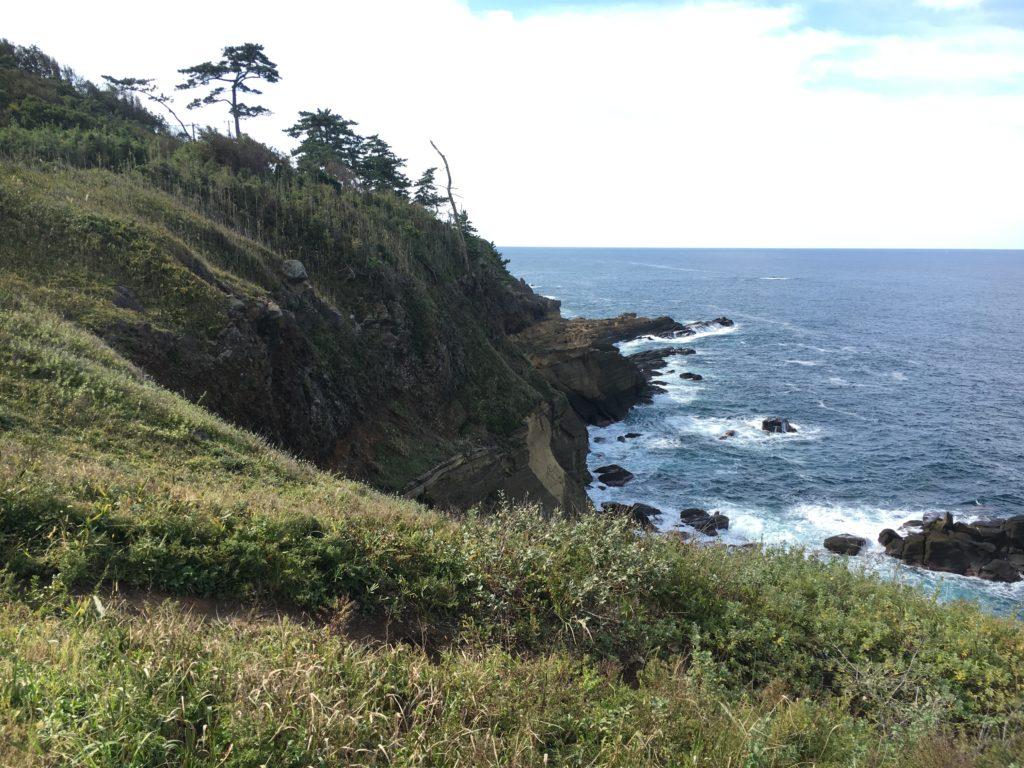 ゼロの焦点ロケ地:ヤセの断崖