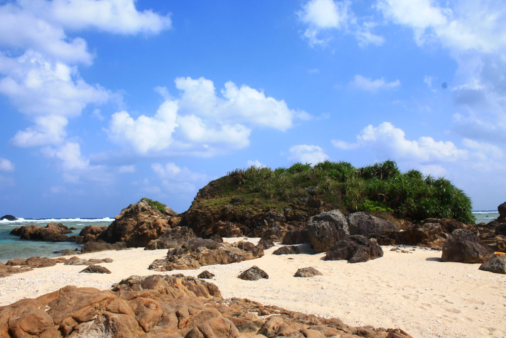 奄美大島:土盛海岸の風景