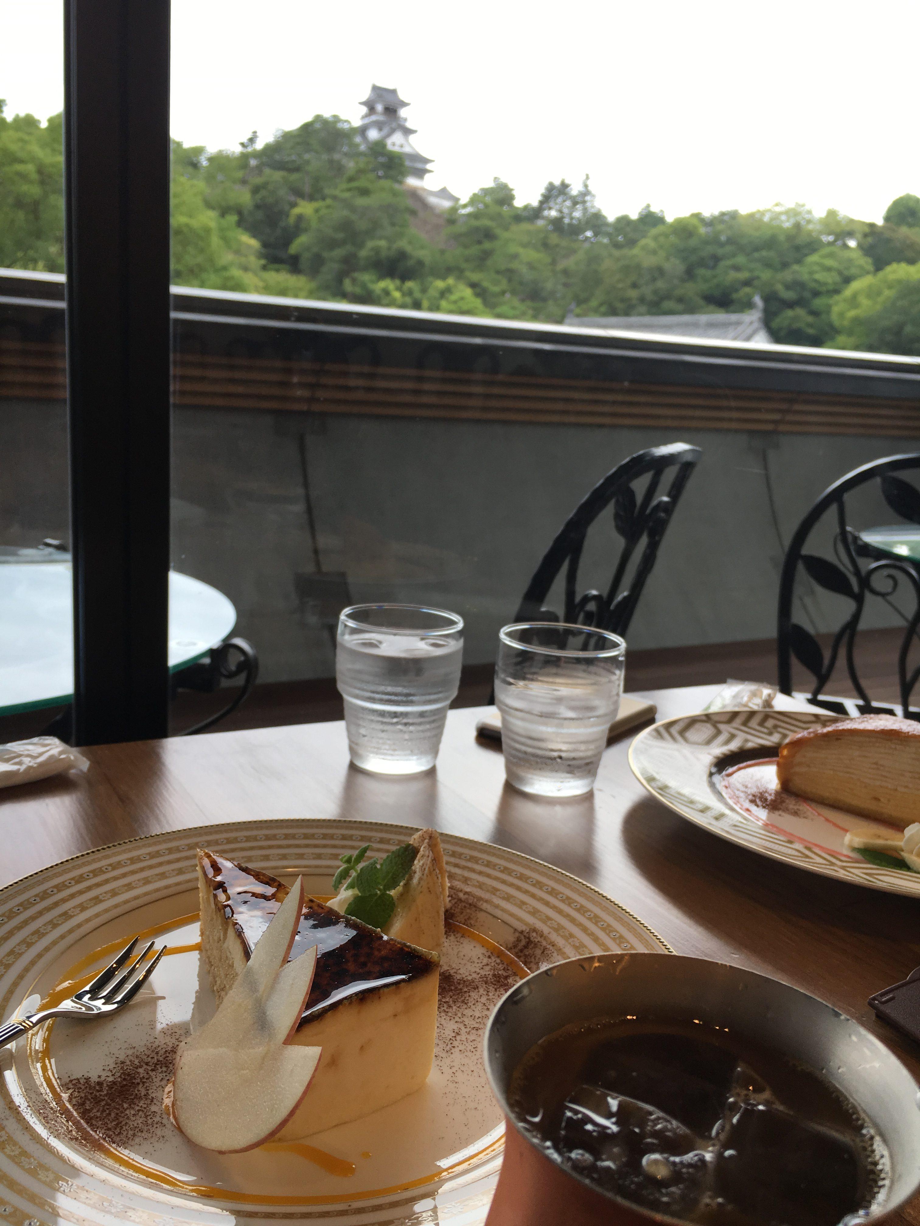 高知城が見えるカフェ:高知城歴史博物館