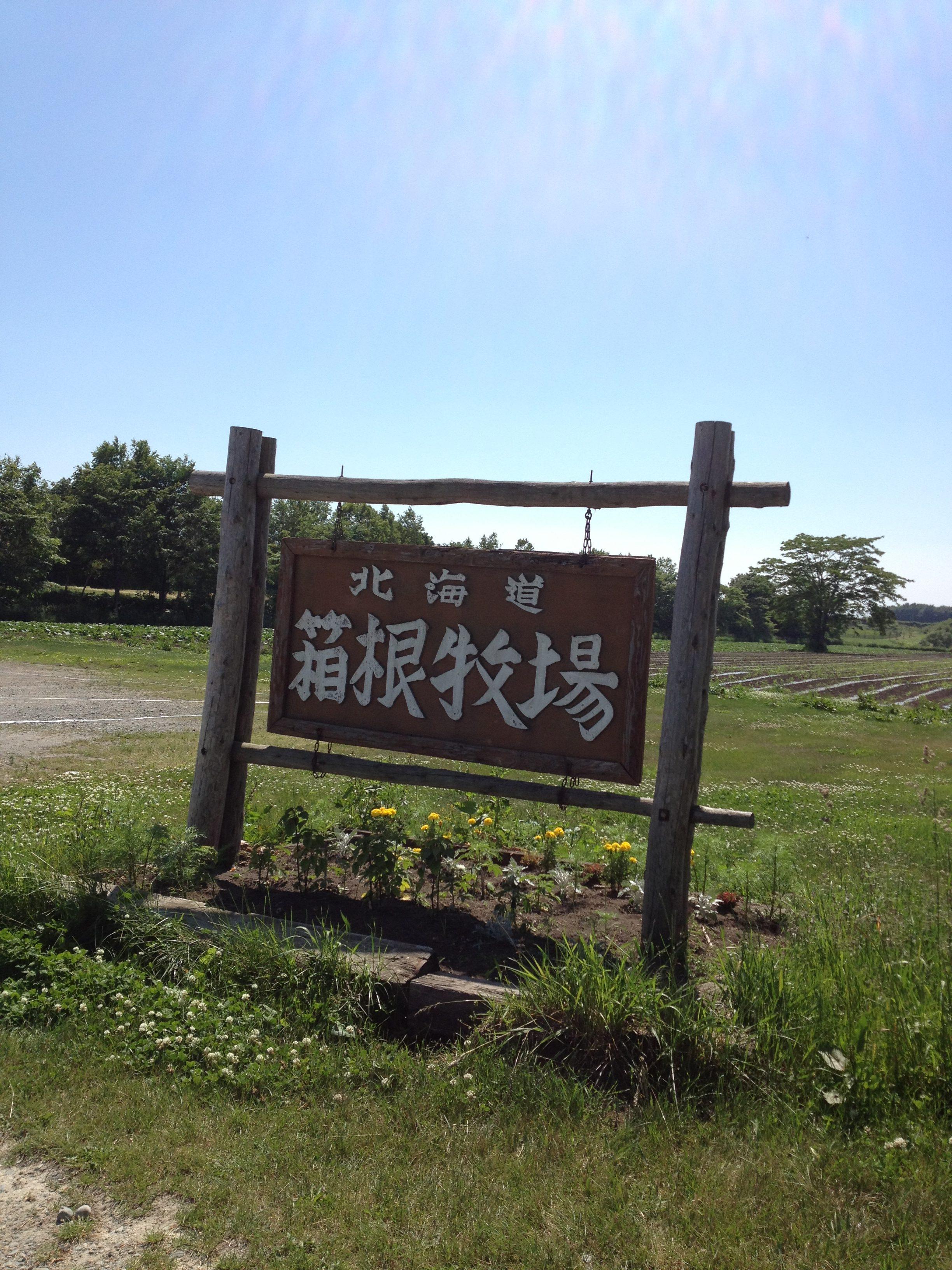 ぞ~んぽた~じゅロケ地の箱根牧場