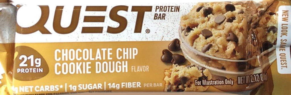 クエストバーチョコレートチップクッキー