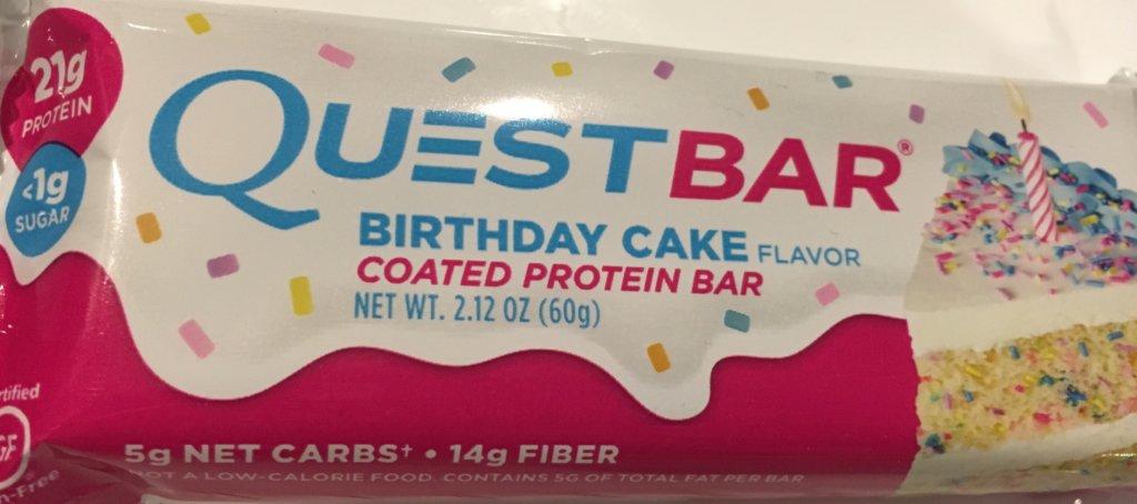 クエストバーバースデーケーキ