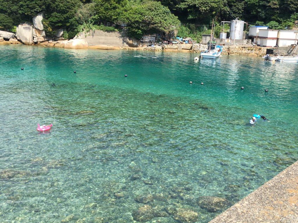 高知の絶景スポット:柏島海水浴場