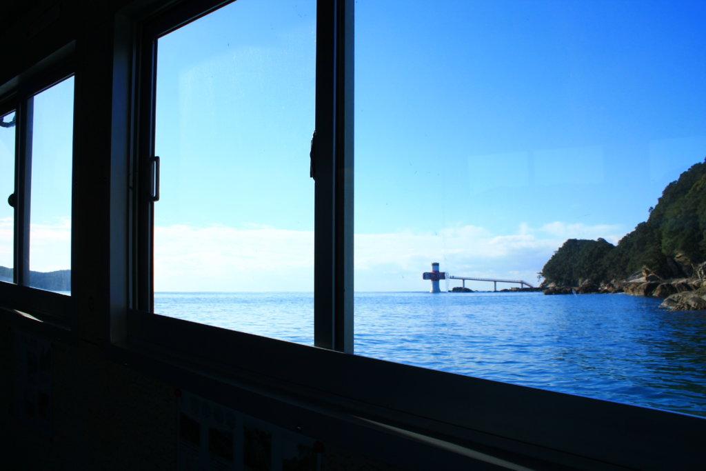 竜串グラスボートからの風景