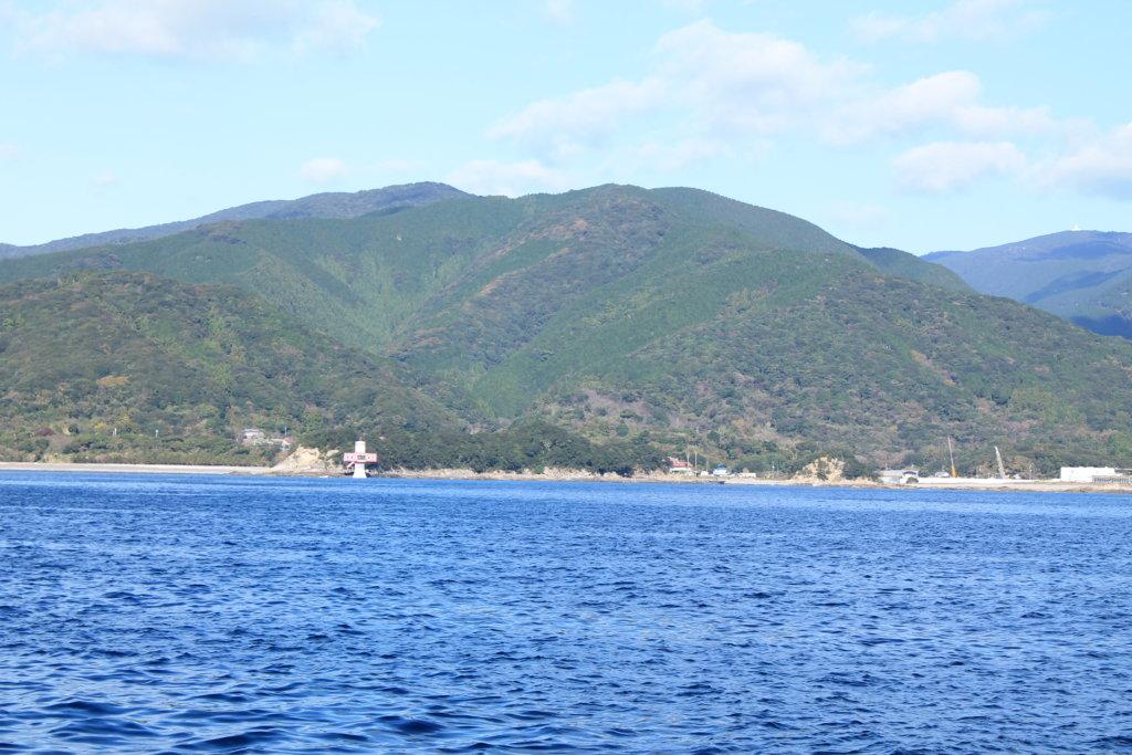 竜串見残し海岸から見る足摺海底