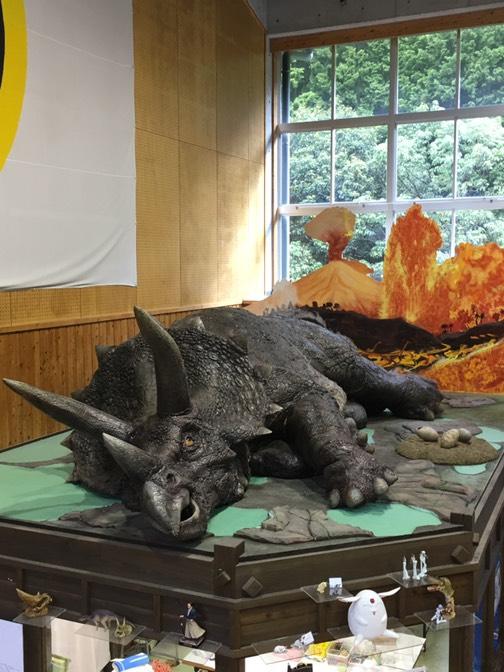 映画ジュラシックパークで実際に使われた恐竜の模型