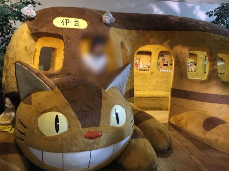 テディーベアミュージアムにある猫バス