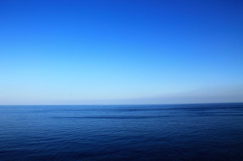 足摺岬正面の風景
