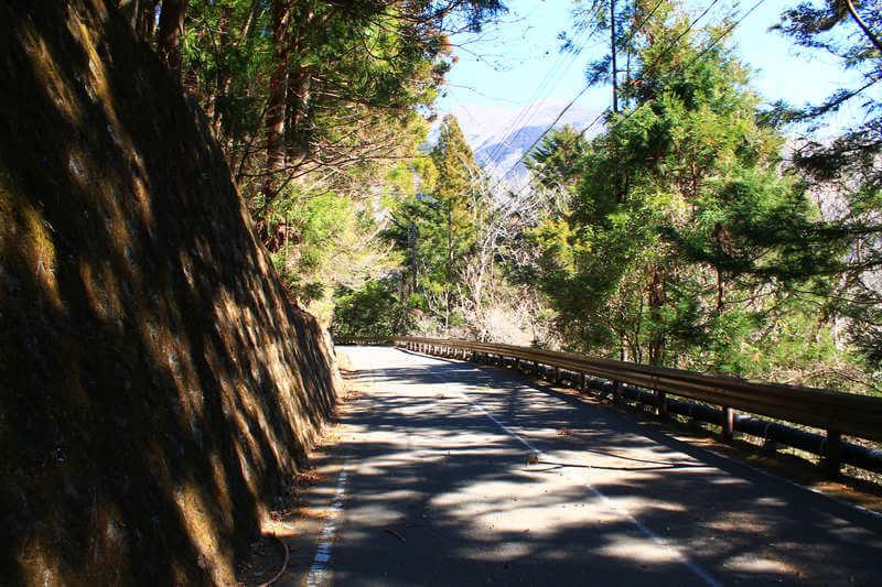 夢の吊橋までの道