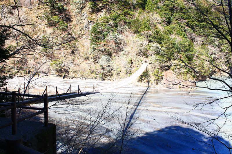 枯れている夢の吊橋