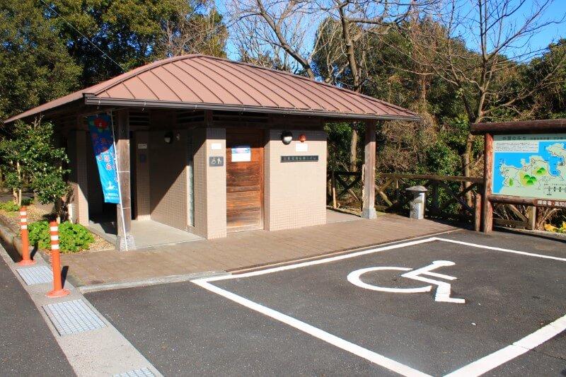 臼碆竜宮神社のトイレ