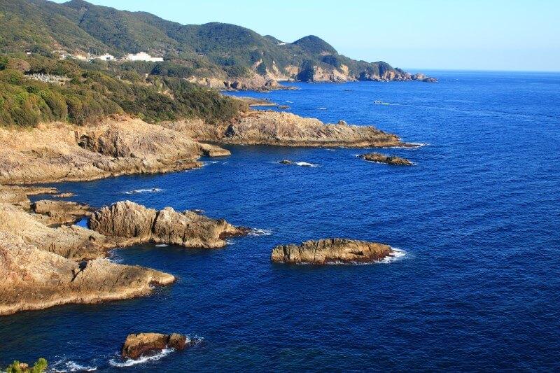 高知の絶景スポット:鵜の岬展望台
