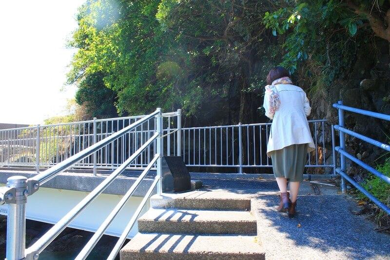 養老洞の橋