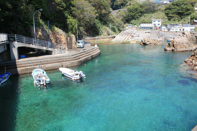 高知の絶景スポット:松尾漁港