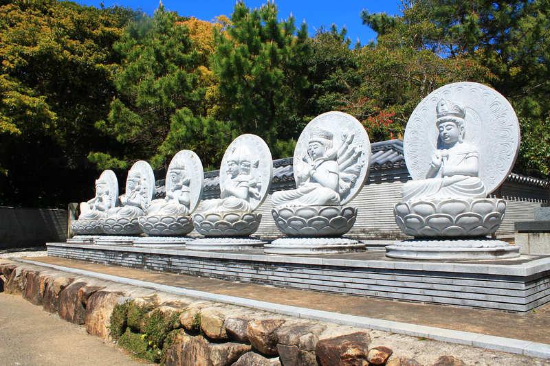 金剛福寺の駐車場