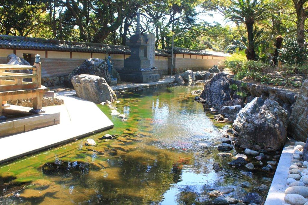 金剛福寺の池