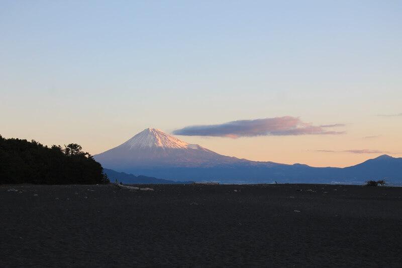三保の松原の富士山