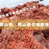 【浜松・舘山寺周辺の観光】舘山遊歩道には知られざる絶景チャート海岸があった!
