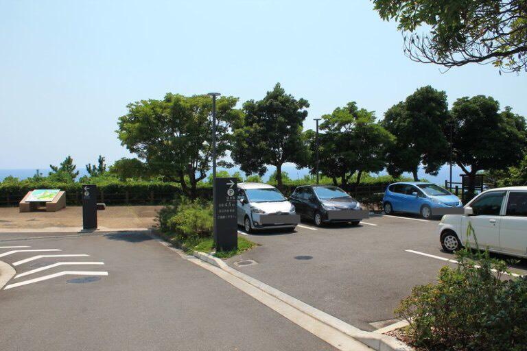 坂本龍馬記念館の駐車場