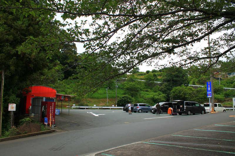 竜ヶ岩洞:駐車場