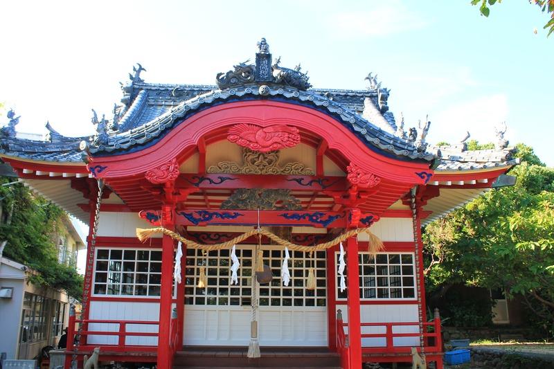 柏島の神社