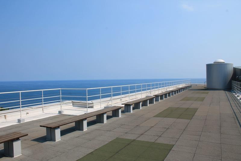 坂本龍馬記念館の屋上