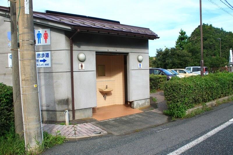 鳥取 千貫松島 トイレ 駐車場